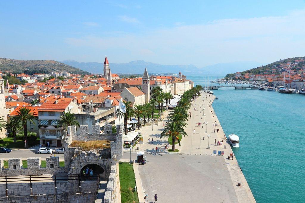 insel ciovo in kroatien